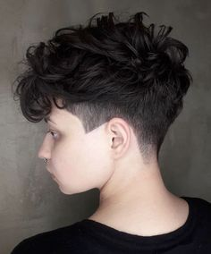 Today we have the most stylish 86 Cute Short Pixie Haircuts. We claim that you have never seen such elegant and eye-catching short hairstyles before. Pixie haircut, of course, offers a lot of options for the hair of the ladies'… Continue Reading → Haircuts For Curly Hair, Short Curly Hair, Short Hair Cuts, Curly Hair Styles, Pixie Haircuts, Pixie Styles, Undercut Curly Hair, Long Hair, Tomboy Hairstyles