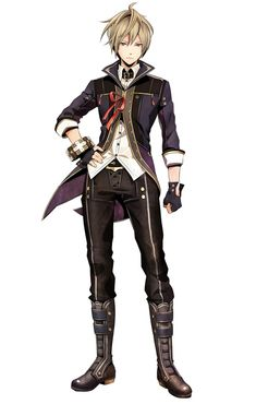 Julius Visconti from God Eater 2