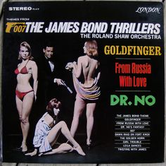 The Roland Shaw Orchestra - The James Bond Thrillers (1966)