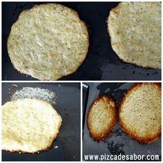 Cómo hacer una masa de pizza de coliflor [sin gluten] | http://www.pizcadesabor.com/2012/07/19/masa-de-pizza-de-coliflor-sin-gluten/