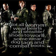 <3 for military women