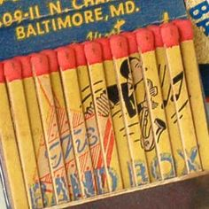 The Band Box Bar — Baltimore, Maryland  #frontstriker #feature #matchbook   To design & order your advertising #matches GoTo: GetMatches.com or Call 800.605.7331 Today!