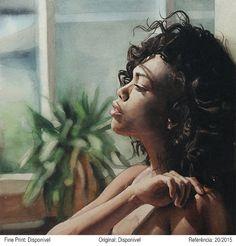 Watercolor by Marcos Beccari. Pintura em aquarela por Marcos Beccari.