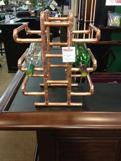 copper wine rack #2