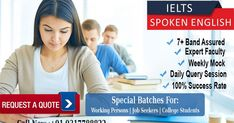 Looking for English Speaking Classes in Chandigarh?  Get Quotes from Best Institutes & Training Providers. Learn Spoken English Classes in chandigarh @ IeltsPro. Rated as Best Spoken English Training Center in Chandigarh *Certified Trainers *Affordable Fees  Call us know @ +919317788822