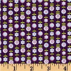 dark purple - Bonjour! Daisies Purple