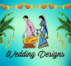 creative stage background design for ganesh chaturthi Wedding Banner Design, Flex Banner Design, Indian Wedding Album Design, Wedding Designs, Sankranthi Wishes, Marriage Photo Album, Adobe Photoshop, Free Printable Wedding Invitations, Shops