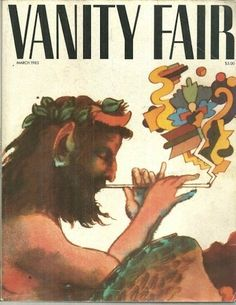 Pan/satyr on first cover of Vanity Fair via http://www.retronaut.co/2011/11/magazines-first-covers/