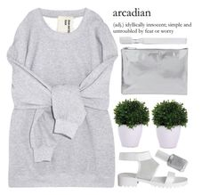"""""""arcadian"""" by evangeline-lily ❤ liked on Polyvore featuring Pieces, Lux-Art Silks, Jil Sander, Supersmile and Essie"""