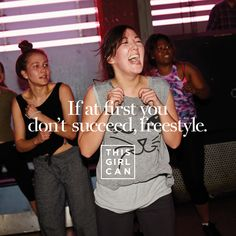 Who else dances like they don't give a damn? #ThisGirlCan