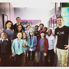 Thanks again to @giqueme for bringing their awesome #Dorchester kids to our @Ableton lab! They absolutely loved it :) #music #technology #education #cambma #cambridge #musiced #STEAM #bosarts #artsed #ableton #composition #live #beats #hiphop #dance #funk #soul #randb #future #kids #kiddj #boston  by mmmmaven December 09 2015 at 12:22PM
