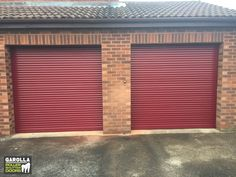 If you're wanting an electric Roller Door, you'll love what's included in out automatic garage doors cost. Click below to see all of our garage roller doors for sale. Red Garage Door, Garage Door Cost, Single Garage Door, Garage Door Paint, Garage Door Decor, Garage Door Makeover, Garage Door Design, Garage Walls, Roller Doors
