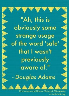 Douglas Adams quotation (The Hitchhiker's Guide to the Galaxy)