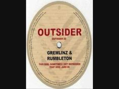gremlinz & rumbleton - jaro 88 The Outsiders, Label