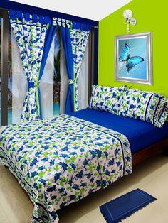 Purple Bedroom Decor, Bedroom Decor For Couples, Room Ideas Bedroom, Bed Cover Design, Designer Bed Sheets, Queen Size Bedspread, Elegant Curtains, African Home Decor, Bedroom Images