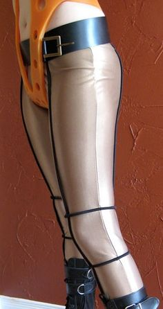 Leeloo Fifth Element Leggings Costume Size M/L by ravenrose13,