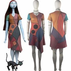 >> Click to Buy << The Nightmare Before Christmas Sally Ball Prom Dress Women Halloween Anime Comic-con Cosplay Costume #Affiliate