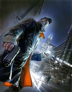 Watch Dogs Alex Ross Aiden Pearce Poster