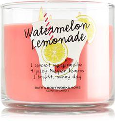 Watermelon Lemonade 3-Wick Candle - Slatkin & Co. - Bath & Body Works