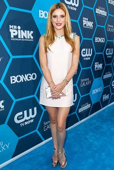 Bella Thorne rocked a chic Miu Miu dress with crystal floral embroidery at the Young Hollywood Awards, and she looked amazing! Read what she had to say about her new workout routine!