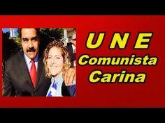 """"""" MADURO """" NA UNE COM """" CARINE VITRAL """" A COMUNISTA LIDER"""