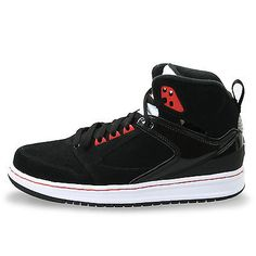 c6c5b755a97ecd NIKE JORDAN SIXTY CLUB MENS 535790-001 Black Basketball Shoes Size 11.5