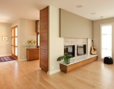 Modern Home entrance storage Design Ideas, Pictures, Remodel and Decor