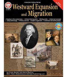 Westward Expansion and Migration Resource Book. U.S. History. Grade: Middle + High School. Also Grades 6-8. Carsondellosa.com.