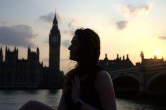 Sunset, portrait, Big Ben, Houses of parlament, London, United Kingdom // full photogallery on www.DR-travelblog.com