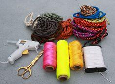 proenza schouler necklace #proenzaschouler #necklace #colors #rope