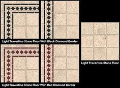 Mod The Sims - Light Travertine Stone Floors