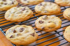 THE best chocolate chip cookie recipe ever!  I will use this base for my cookies from now on.