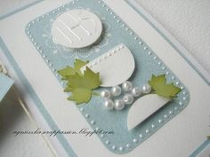 First Holy Communion card....by Agnieszka