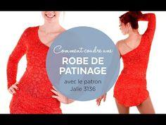 Comment coudre une robe de patinage (patron Jalie 3136) - YouTube
