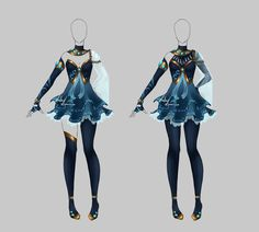 Outfit design - 206 - closed by LotusLumino on DeviantArt