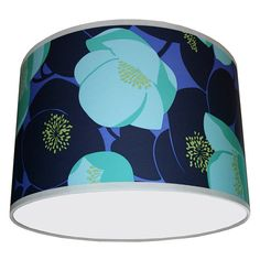 amy butler wallpaper lampshade by love frankie | notonthehighstreet.com