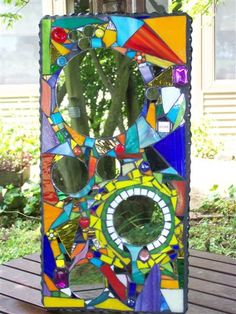mirrored mosaic by Janet Althoff