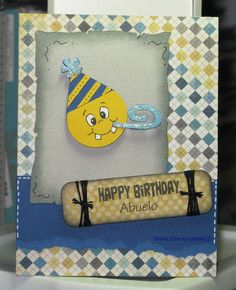 Gloria's Goofy Craft Spot: Happy Birthday Abuelo