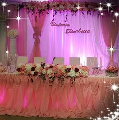 sala per battesimo in rosa #aranjamentesalinuntibotezuri #elenastyleevents Quince Ideas, Home Decor, Pink, Decoration Home, Room Decor, Quinceanera Ideas, Home Interior Design, Home Decoration, Interior Design