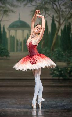 Polina Semionova in The Nutcracker by John Neumeier at Bayerische Staatsopera. Photo by Jack Devant