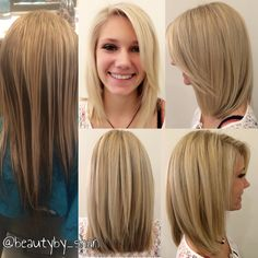 Before and after. Muddy brassy to platinum blonde. Color ...