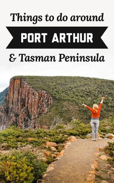 If you're looking for some amazing experiences to have while you're travelling in Tasmania, here are my suggestions for the best things to do around Port Arthur and the Tasman Peninsula! | A Globe Well Travelled Travel Destinations, Travel Tips, Travel Plan, Port Arthur, Things To Do, Good Things, Lost Soul, Tasmania, Australia Travel
