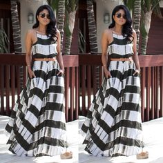 US Stock Women Summer Boho Floral Dress 2017 Long Maxi Party Beach Dresses 2017 Sundress 2017 Summer Dresses 2017, Beach Dresses, Dress Beach, Boho Floral Dress, Holiday Outfits, Cute Outfits, Dresses For Work, Ootd, Evening Party