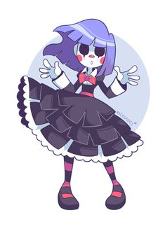 A spooky clown girl Cartoon Kunst, Anime Kunst, Anime Art, Fantasy Character Design, Character Design Inspiration, Character Art, Cute Art Styles, Cartoon Art Styles, Cute Clown