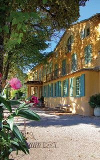 Domaine de la Baume, Tourtour, Provence.  Former home of Bernard Buffet, now a hotel with just 10 rooms and suites.