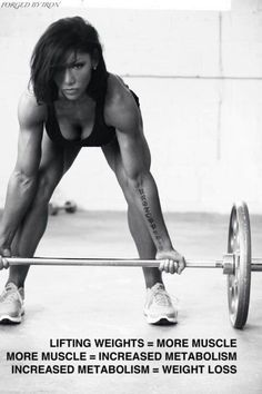 The TRUTH about weight lifting and women.