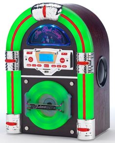 Jive Rock Sixty Bluetooth Mini Jukebox in 2 colours with bluetooth playback!.