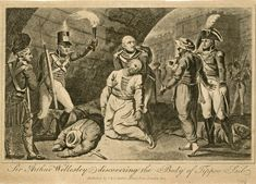Sir Arthur Wellesley discovering the body of Tippoo Saib