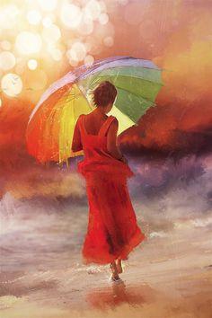 Claudia Lucia McKinney- Rain Dance