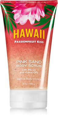 Hawaii Passionfruit Kiss Pink Sand Body Scrub - Signature Collection - Bath & Body Works